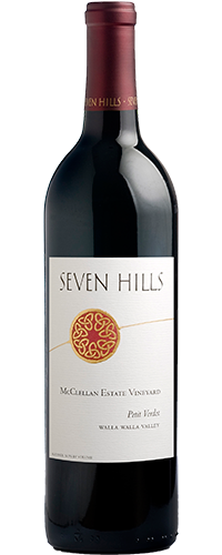 2016 Petit Verdot, McClellan Estate Vineyard, Walla Walla Valley